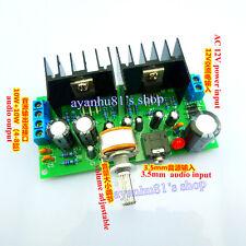 AC 12V TDA2030A 10W+10W HIFI Stereo Audio Power Amplifier Board 2.0CH Amp Kits