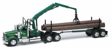 NEWRAY 1:32 TRAILER KENWORTH W900 LOG HAULER Semi Trucks 13743