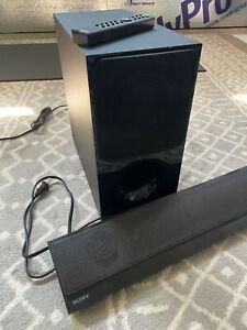 Sony Sound Bar & Wireless Subwoofer w/ remote - SA-CT260 / SA-WCT390