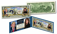 DONALD & MELANIA TRUMP  * First Presidential Couple * Genuine Official $2 Bill