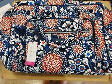 vera bradley Weekender Traveler Bag Red, White, and Blossom Nwt