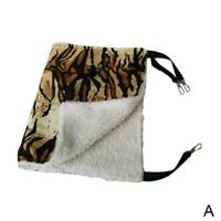 1*Warm Cat Hammock Fur Bed Hanging Cat Cage Ferret Pets House Rest Supplies V0E8