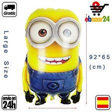 Globo Minions 92 x 65 XL gigante cumpleaños fiesta globos minion *Envío GRATIS d