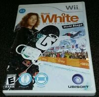 Shaun White Snowboarding: World Stage (Nintendo Wii, 2009) Complete, TESTED