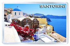 SANTORINI GREECE MOD3 FRIDGE MAGNET SOUVENIR IMAN NEVERA