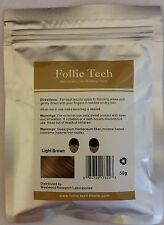 5 - Hair Building Fibers Refill Light Brown 50g Thinning Hair Concealer