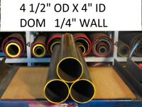 "E0099 DOM ROUND STEEL TUBE  1.875/"" OD  X   1.500/""  ID .188 WALL 37/""  LONG"