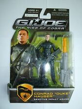 "GI Joe Rise Of Cobra Conrad ""Duke"" Hauser Reactive Impact Armor figure"