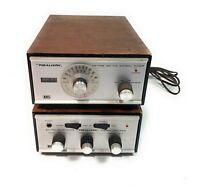 Realistic SA-175C & TM-175B Solid State Stereo / Mono Amplifier AM/FM Tuner