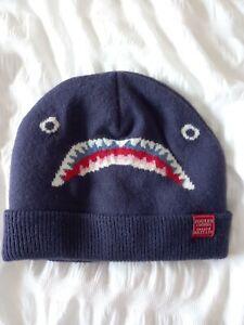 Joules Shark Boys Winter Hat 8-12 years