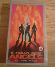 vhs video CHARLIE'S ANGELS  Get Some Action. 2001. Cameron Diaz, Drew Barrymore,