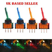 4x 12V LED On/Off 3Pin SPST Toggle Rocker Control Switch For Car Auto Truck Boat