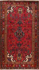 Vintage Geometric Lilihan Oriental Area Rug Hand-Knotted Home Decor Carpet 4'x7'