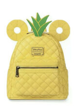 Disney Parks Mickey Mouse Pineapple Ears Mini Loungefly Backpack Nwt!