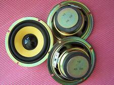 "2pcs 3"" inch Full-range speaker Loudspeaker Yellow pot black hat 4 ohms 5 watts"