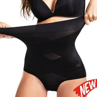 Women Ultra Elastic Body Shaper High Waisted Tummy Control Shapewear Butt Lifter