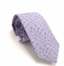 $110 BAR III Mens NAVY BLUE FLORAL COTTON NECK TIE CLASSIC SKINNY NECKTIE 58X2.5