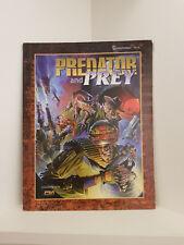 Shadowrun: Predator and Prey, RPG, Fasa, Softcover