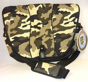 Camouflage EastSport Messenger Laptop Organizer Bag New w- Tags Back to School