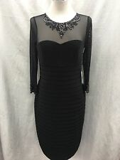 """ADRIANNA PAPELL DRESS /NEW WITH TAG/SIZE12/RETAIL$169/ STRETCH FABRIC/LENGTH 41"""""""