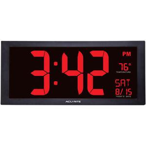 """AcuRite AcuRite Digital 18"""" Clock"""