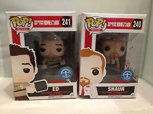 Funko Pop 240/241 Shaun Of The Dead - Shaun And Ed.