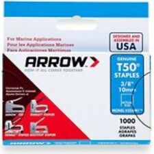 Arrow Fastener 506M1 Genuine T50 Monel Rustproof 3/8-Inch Staples, 1,000-Pack