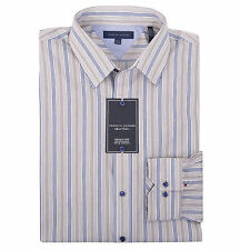 Tommy Hilfiger Men's Long Sleeve Stripe Button-Down Dress Shirt - $0 Free Ship