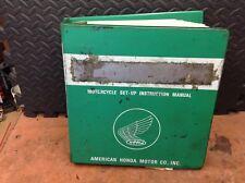 15 Factory Honda Setup Manuals 1980-83 XL,XR,CM,ATC,CB,CR,CM 185-450's In Binder