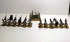 28mm Colonial / Sudan Egyptian Infantry & Krupp 6pdr - Metal - Painted & Based