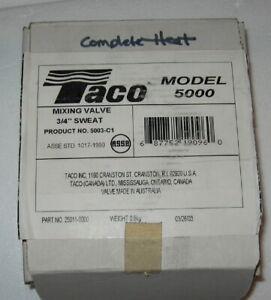 """3/4"""" Union Sweat Mixing Valve TACO 5003-C1 99L99 HM30 LB68581G 78J85 90J45"""