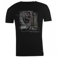 Firetrap Graphic T-shirt Black Skull Small Td084 BB 09