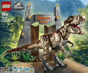 LEGO 75936 Jurassic Park: T. rex Rampage  - Brand New In Sealed Box