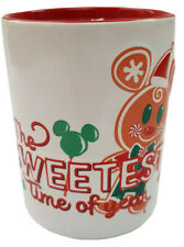 More details for disney store mickey mouse gingerbread scented christmas holiday candle holder