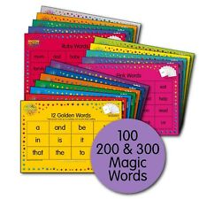 M100W - Magic Words Placemat Pack - Magic Words Playing Cards sold separately