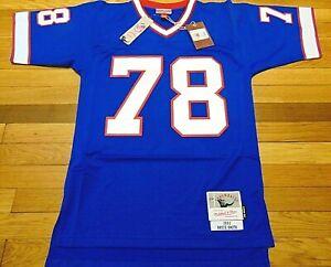 MITCHELL & NESS NFL BUFFALO BILLS BRUCE SMITH 1990 LEGACY JERSEY S 36