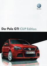 VW Polo GTI CUP Edition Prospekt