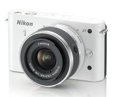 Nikon 1 J1 18.4MP Digital SLR Camera - White (Kit w/ 10-30mm Lens & Strap)