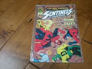 CAPTAIN PARAGON AND THE SENTINELS OF JUSTICE #2 (1985) AC COMICS