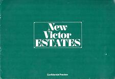Vauxhall Victor FD Estate 1967-68 UK Market Preview Sales Brochure