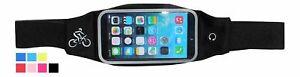 Bauch Hüft Tasche für Apple iPhone flach Sport Hülle Laufen Jogging Schutz Etui