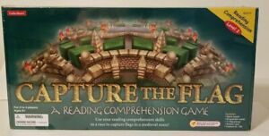 Capture the Flag Reading Comprehension Level 2 Board Game Lakeshore New