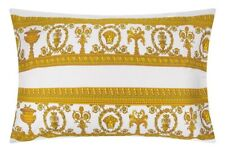 Versace Baroque Medusa King Size Pillow Case 2 pieces Set - White