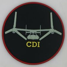 USMC MV-22 QUALIFICATION PATCH- COLLATERAL DUTY INSPECTOR (CDI) GITD Patch @