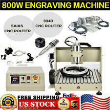 Usb Port 5 Axis Cnc 3040 Router Engraver 800w Engraving Drilling Milling Machine