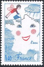 France 1981 Angel/Water/Cloud/Irrigation/Nature/Animation 1v (n31887)