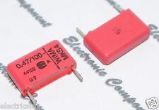 10pcs - WIMA MKS4 0.47uF (0.47µF 0,47uF 470nF) 100V 5% pich:15mm Capacitor