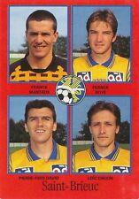 N°364 MANTAUX / ROYE DAVID SAINT-BRIEUC VIGNETTE PANINI FOOTBALL 97 STICKER 1997