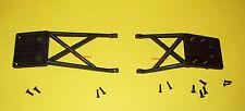 Traxxas Slash Front Rear Skidplate Set 2-Pieces 12-Screws P/N 5837 Free Shipping