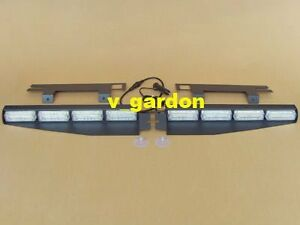New Model Exclusive Split 2x16 LED 3W Visor Interior LightBar J32-3W